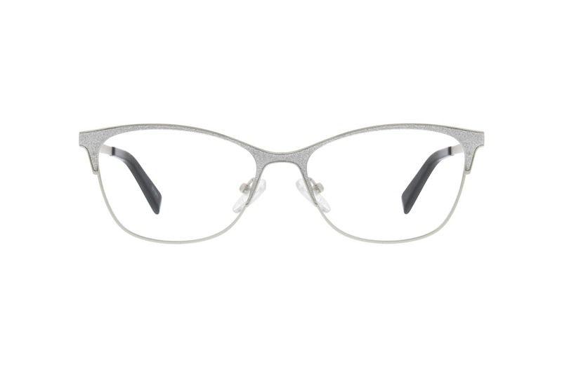 Silver Cat-Eye Glasses #3215811 | Zenni Optical Eyeglasses in 2019