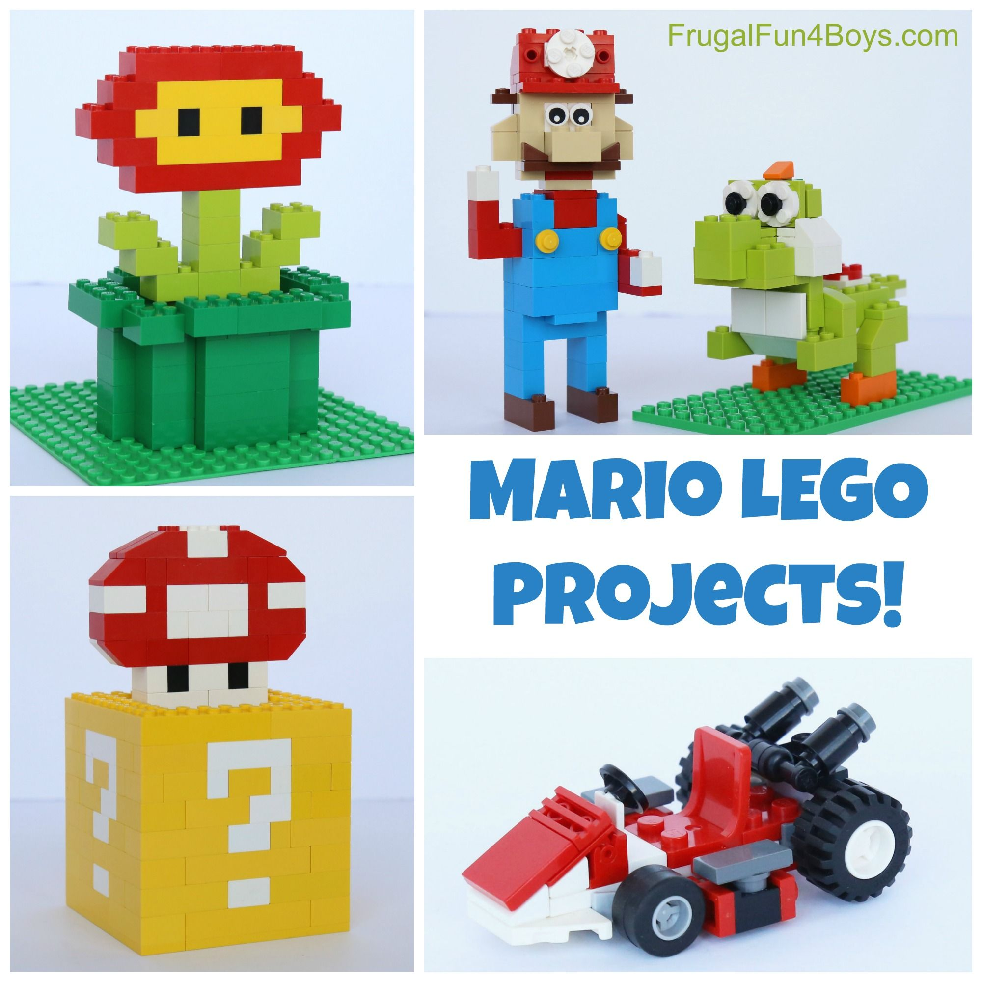 how to craft a dispenser mario lego projects with building lego 6756