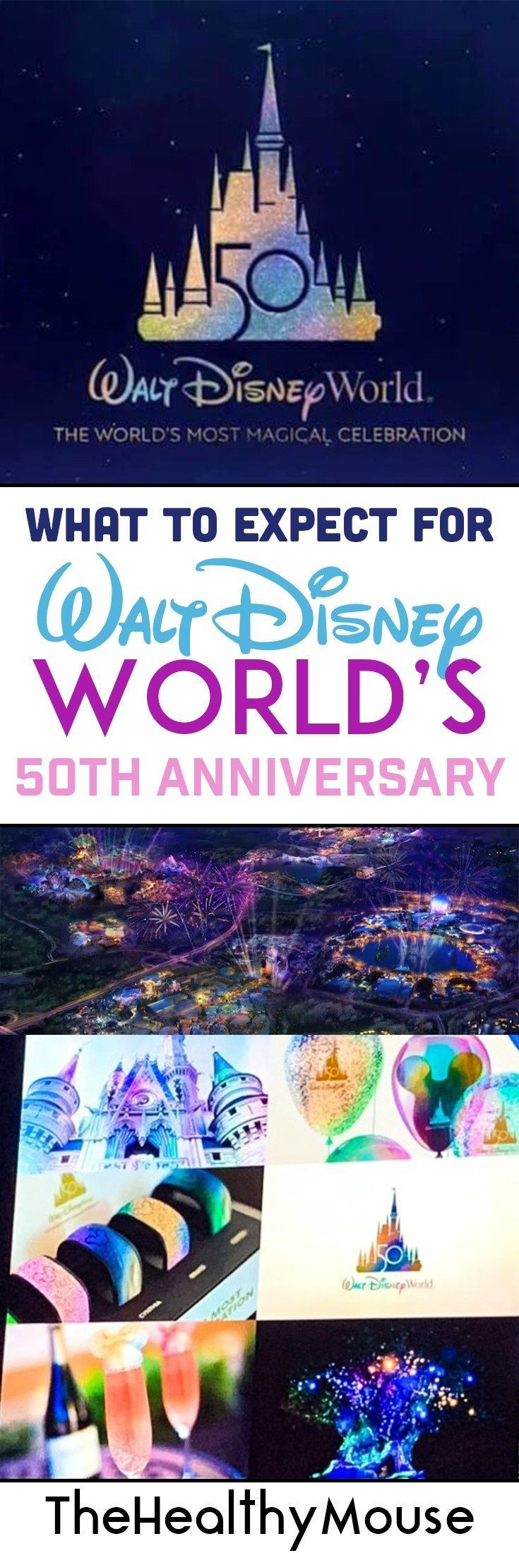 What to Expect for Walt Disney World's 50th Anniversary