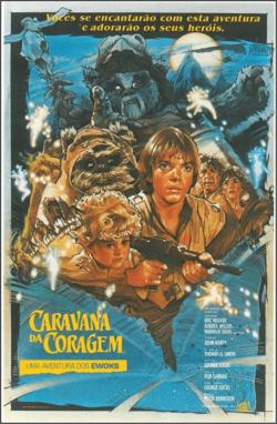 Caravana Da Coragem Uma Aventura Dos Ewoks Lixeira Carro Filmes Vintage Filmes De Aventura