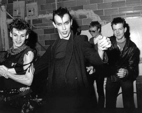 Day late for World Goth Day - Bauhaus I LOVE how young & totally non-scary they all look... :-)