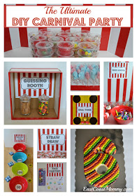 East Coast Mommy Carnival Signage Diy Carnival Games Kids