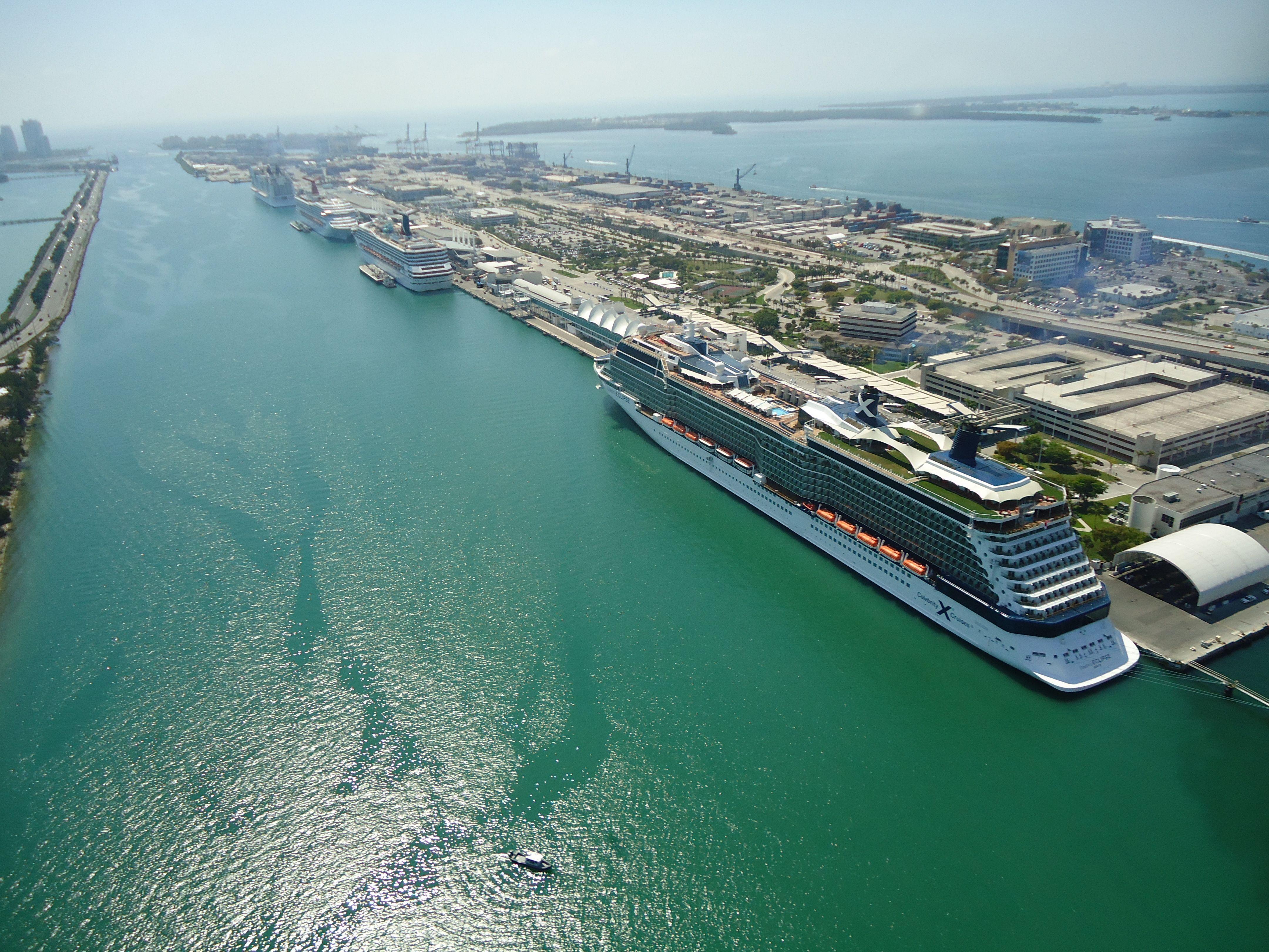 Miami Port South Beach Florida City Break