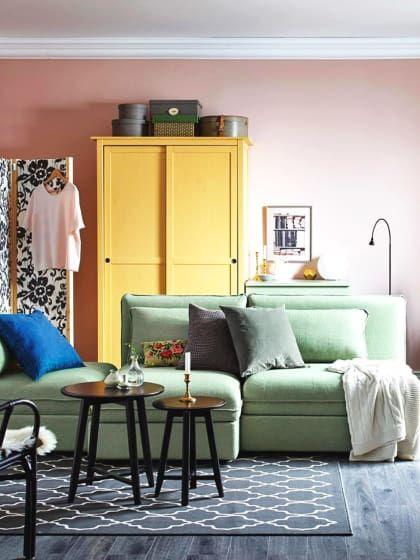 Trend Alarm: Die Pantone Farbe Pale Dogwood Macht Sich Im Wohnzimmer  Besonders Gut