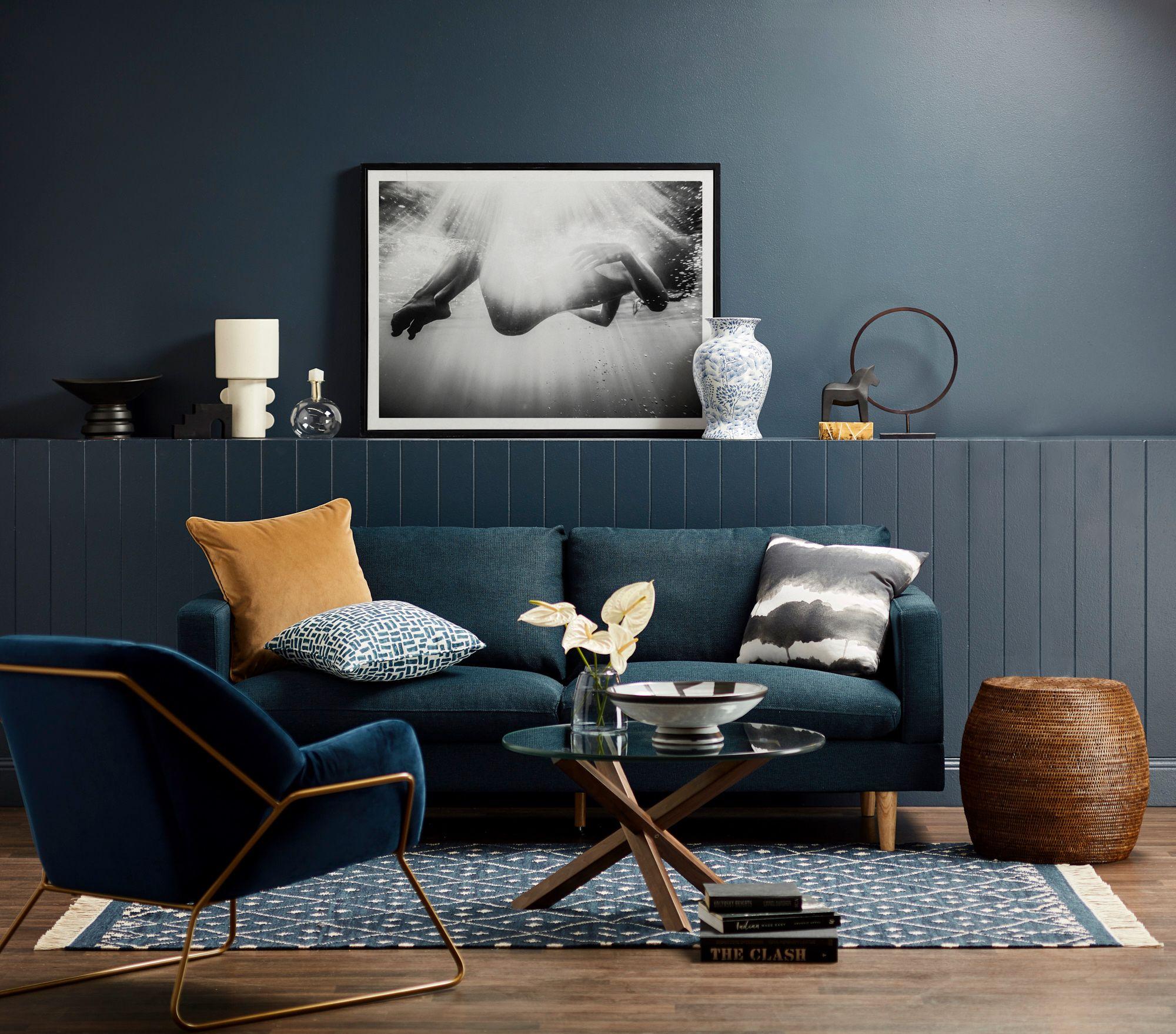 Walnut Navy Bedroom Living Room Trends Living Room Room