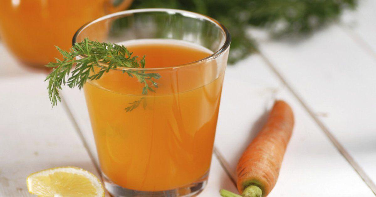 Karottensaft: Gesundes Getränk selber machen | gesunde Getränke ...