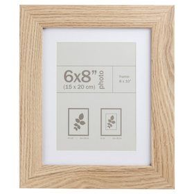 Valencia Photo Frame 6in X 8in 15cm X 20cm Blonde Frame Photo Frame Photo Picture Frames