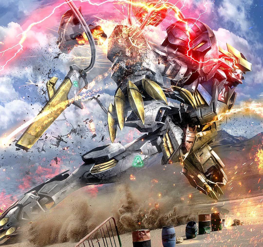 Gundam Barbatos Lupus Rex Gundam Wallpapers Gundam Art Gundam Iron Blooded Orphans
