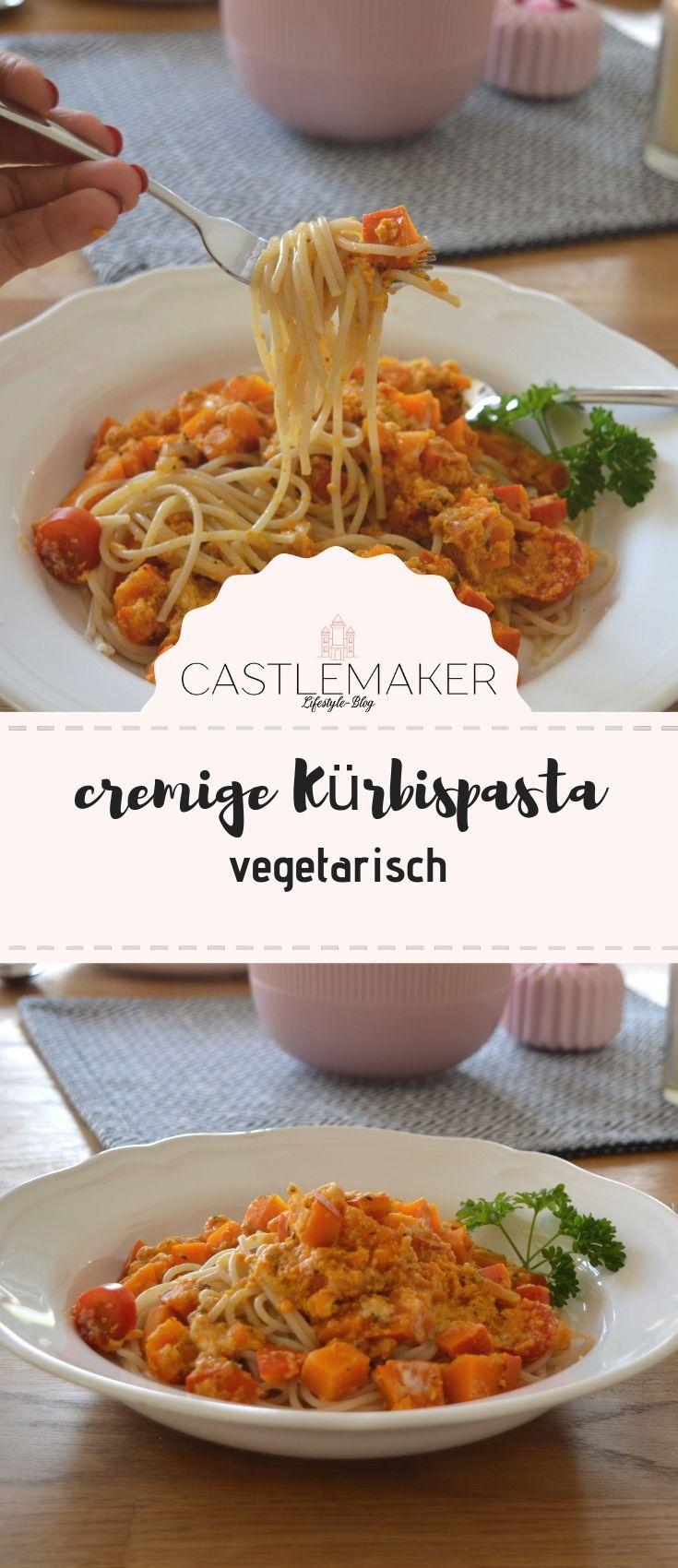 Photo of Spaghetti with vegetarian pumpkin bolognese – creamy pumpkin pasta «CASTLEMAKER Lifestyle Blog