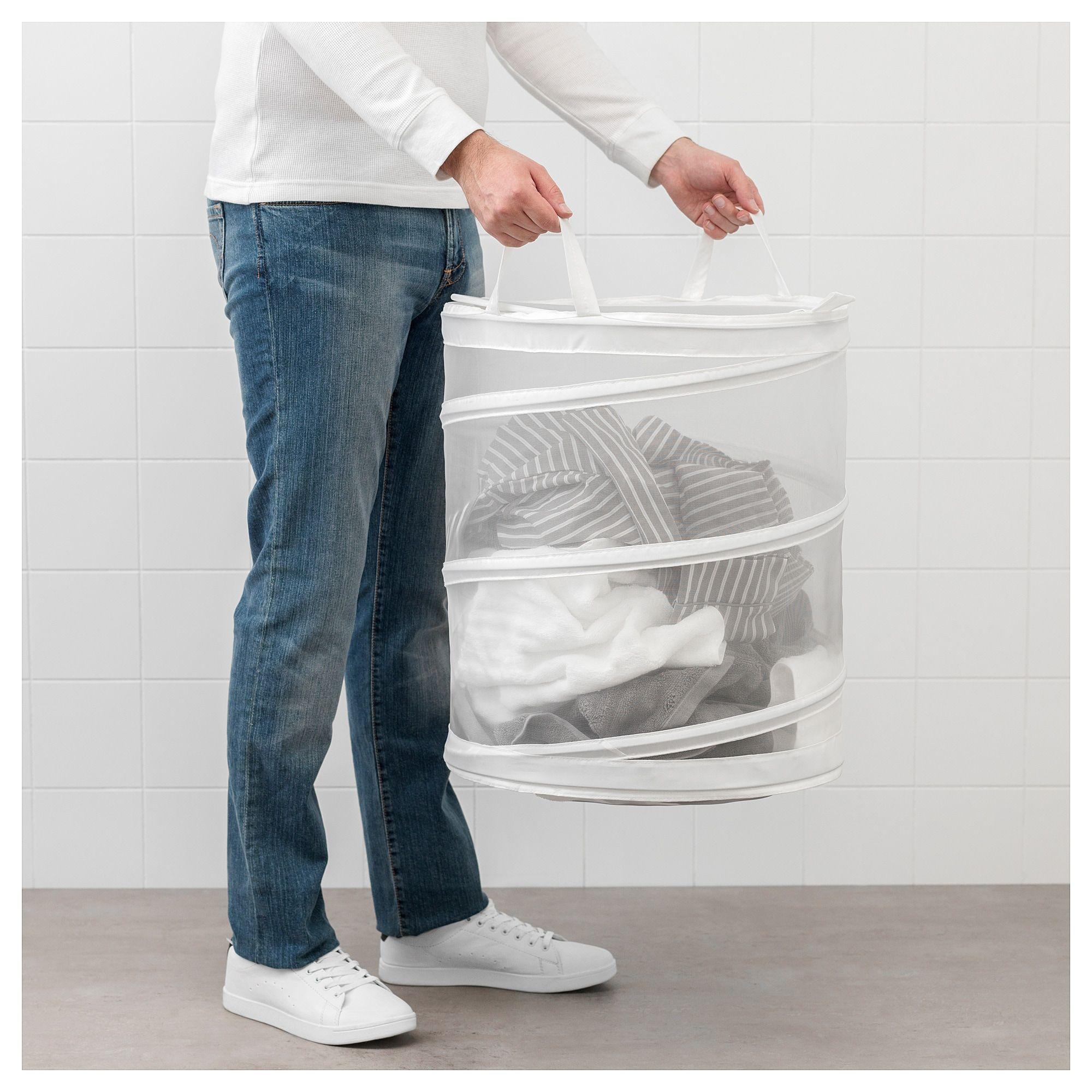 Ikea Fyllen Laundry Basket Laundry Basket White Laundry