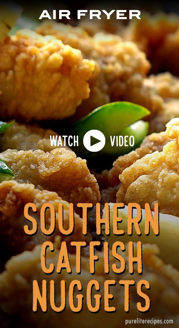 Southern Air Fryer Catfish Nuggets Recipe in 2020 Fish