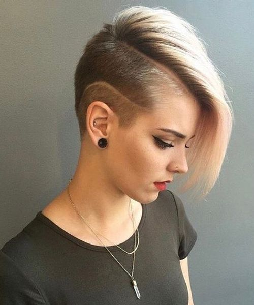 Short Haircuts For Teenage Girl Popular Hairstyle In 2020 Short Shaved Hairstyles Hair Styles Short Hair Styles
