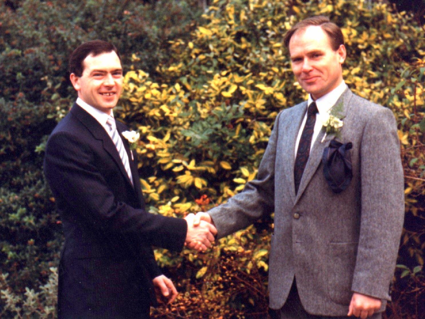 Brian & Robert Bovington (Brian's wedding) Suit jacket