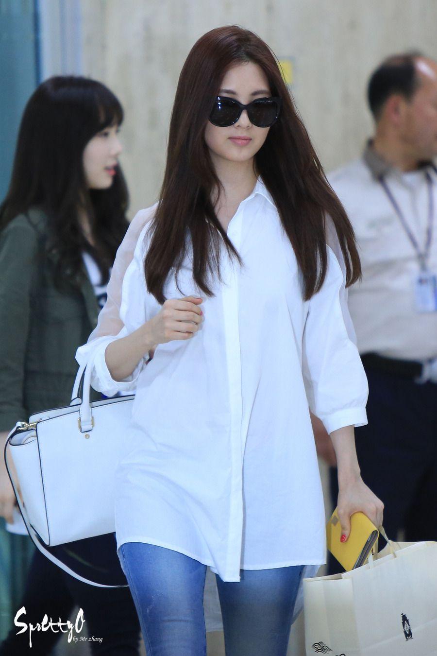 140526 seohyun's airport fashion | Fashion, Seohyun, Women