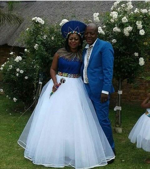 Traditional Wedding Dresses 2019 South Africa: Newest Shweshwe Umembeso Wedding Dress For 2019