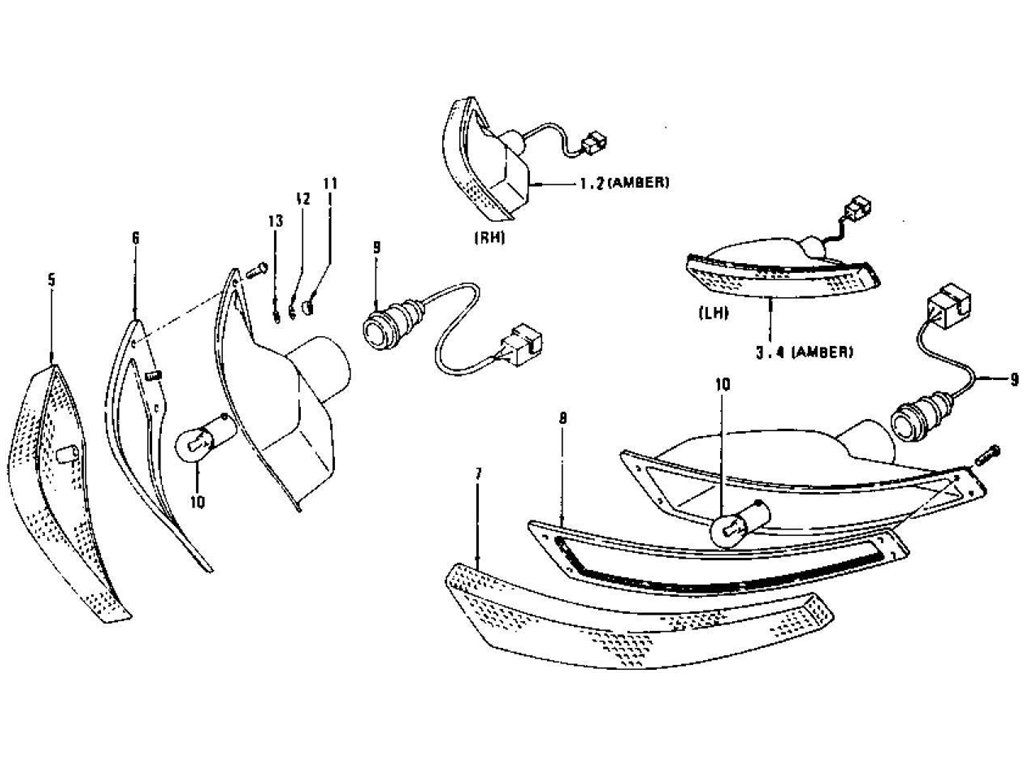 Pin On 240z Parts Diagrams