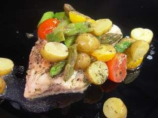 Walleye Grilled In Foil #recipe from WLUK FOX 11 Living with Amy Hanten. #recipes #video