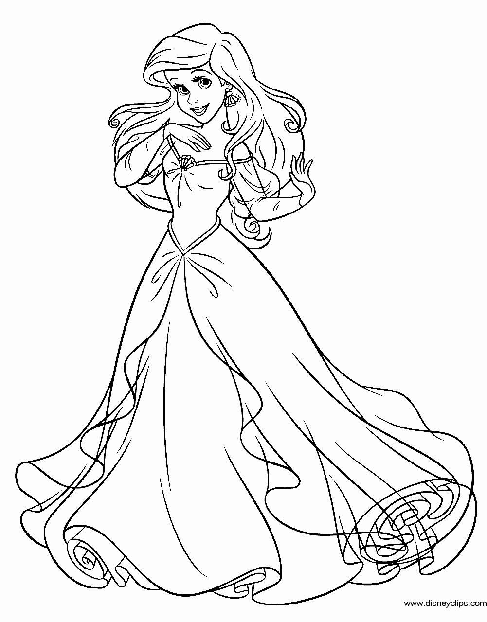 Ariel The Little Mermaid Coloring Page Youngandtae Com In 2020 Disney Princess Coloring Pages Mermaid Coloring Book Ariel Coloring Pages