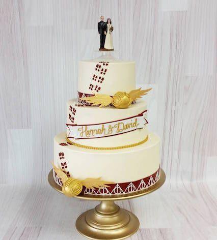 9 Harry Potter Wedding Cakes For Hardcore Fans