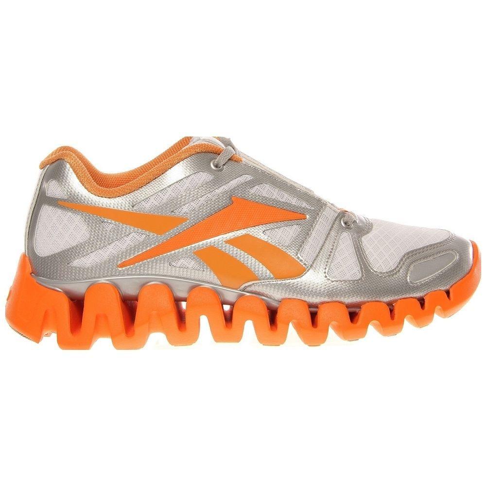 NEW REEBOK ZIGTECH ZIG DYNAMIC Running MENS Orange White Silver 110 NIB