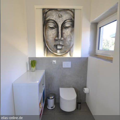 Hier erstellten wir ein modernes Badezimmer im puristischen Beton - modernes badezimmer design