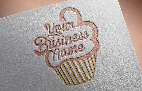 Logo De La Empresa Negocio Pinterest Cupcake Logo Logos And