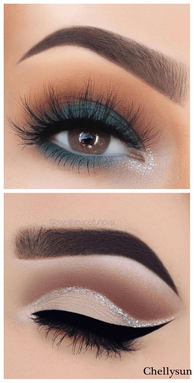 ¿Qué color de delineador resalta mejore en el maquillaje para ojos oscuro?
