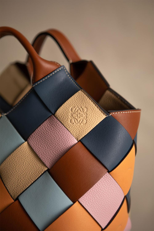 Loewe Debuts Sustainable Basket Handbags Made From Surplus Leather