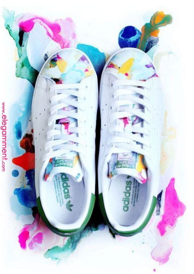 Basket multicolore #aikochaussure #chaussurefemme #basket