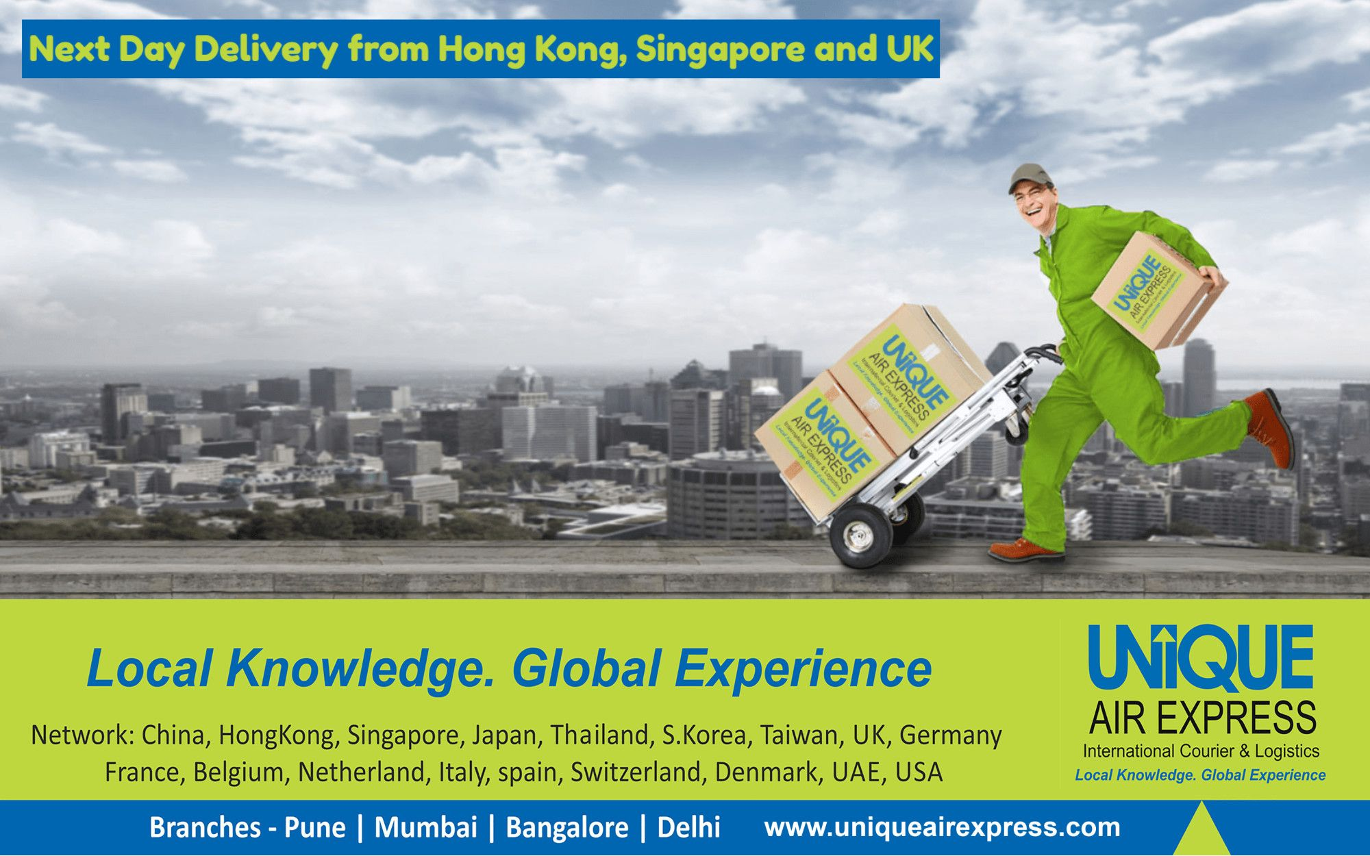 Now Receiving Goods is Like Receiving from your Own