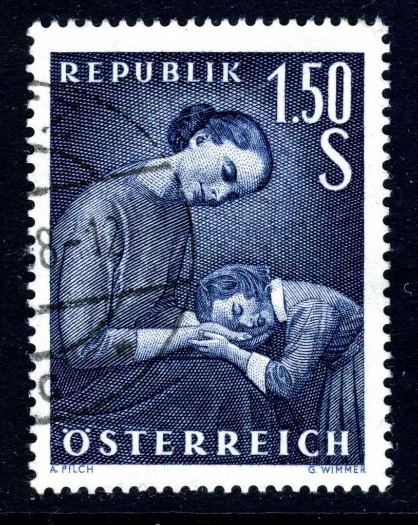 Austria 1958 - Día de Las Madres