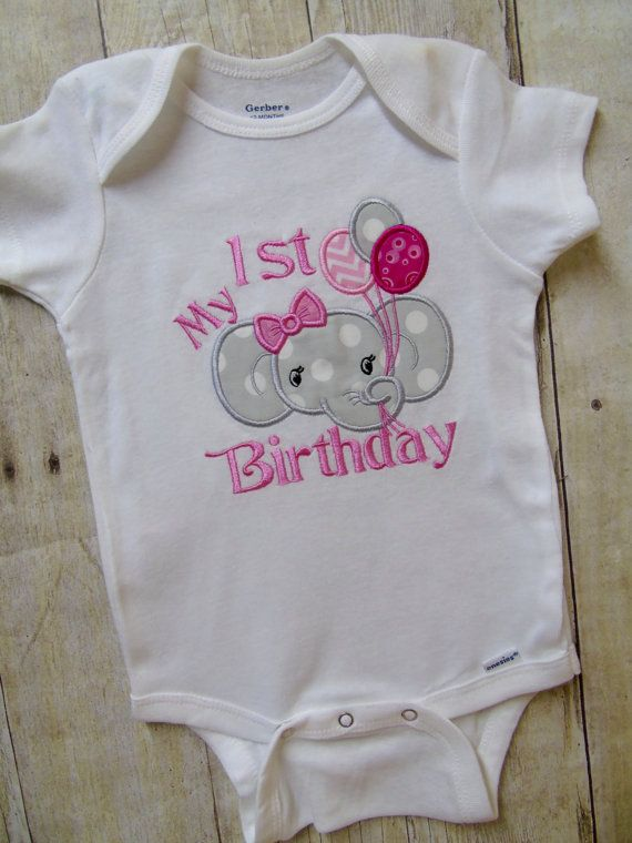 First birthday onesie custom birthday onesie