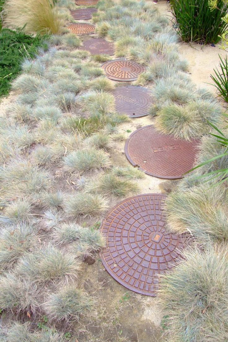 Image Result For Vintage Sewer Cap Manhole Cover Los Angeles Craigslist Hardscape Round Stepping Stones Garden Inspiration