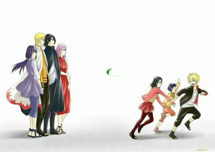 They all grew up so fast anime naruto gaiden - Naruto boards ...
