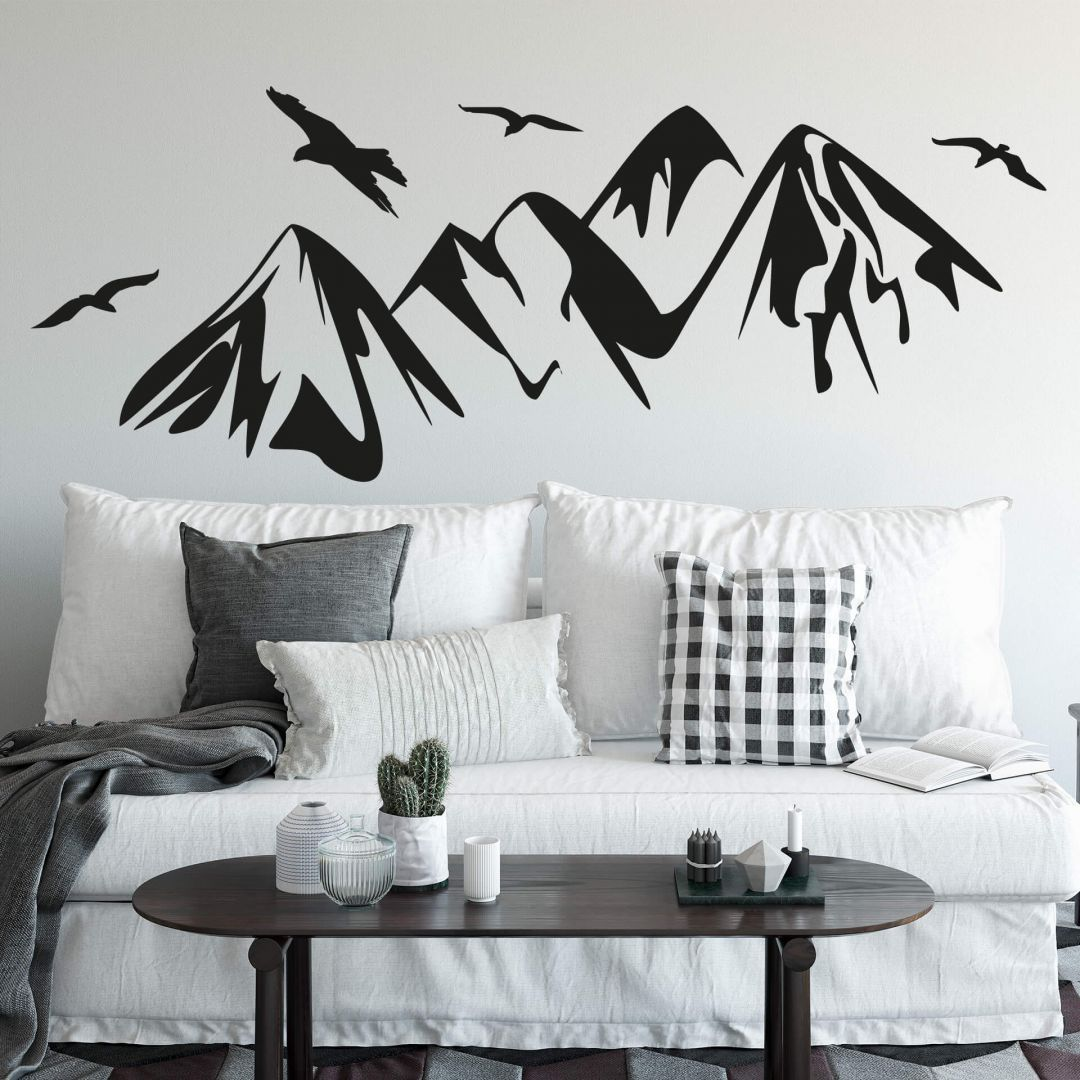 Wandtattoo Schmetterling Glitzer Wandtattoo Gebirge Wall Art De In 2019 Wandtattoo Home