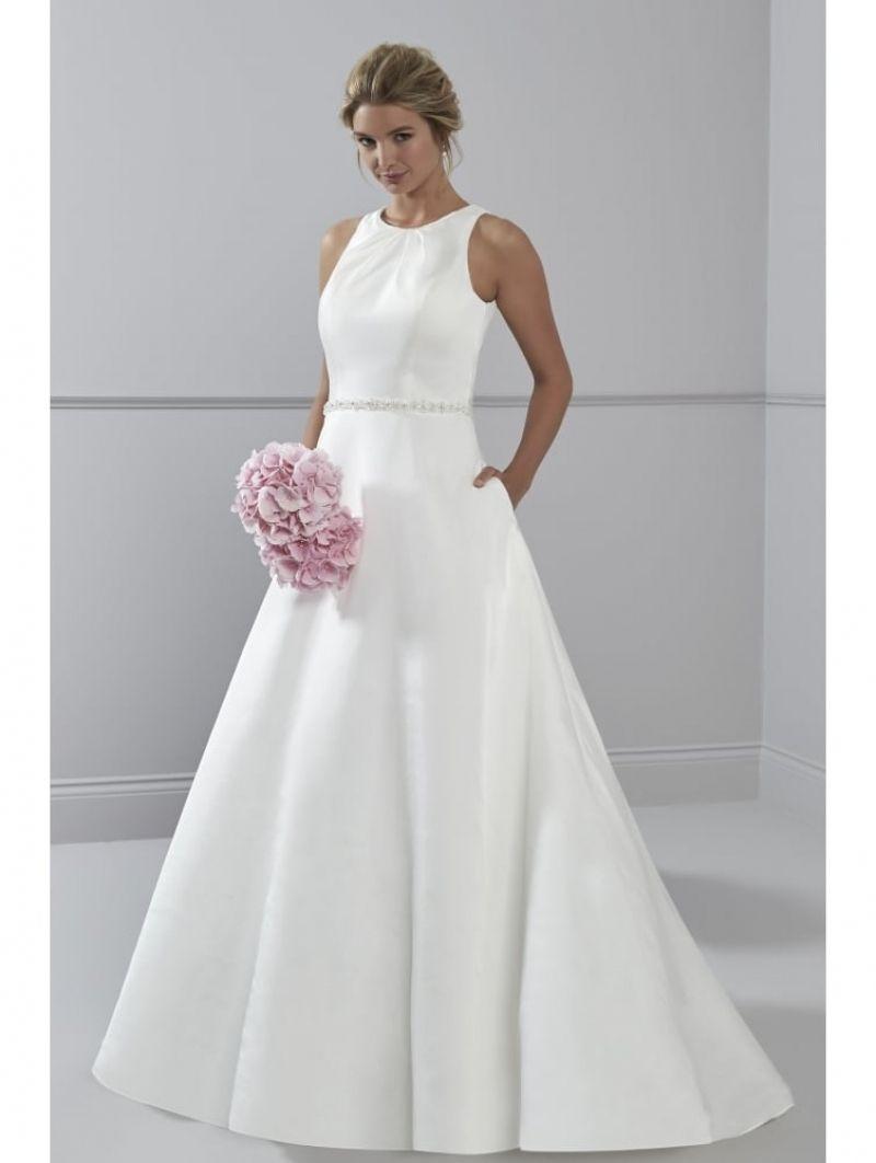 Best Plain A Line Wedding Dress