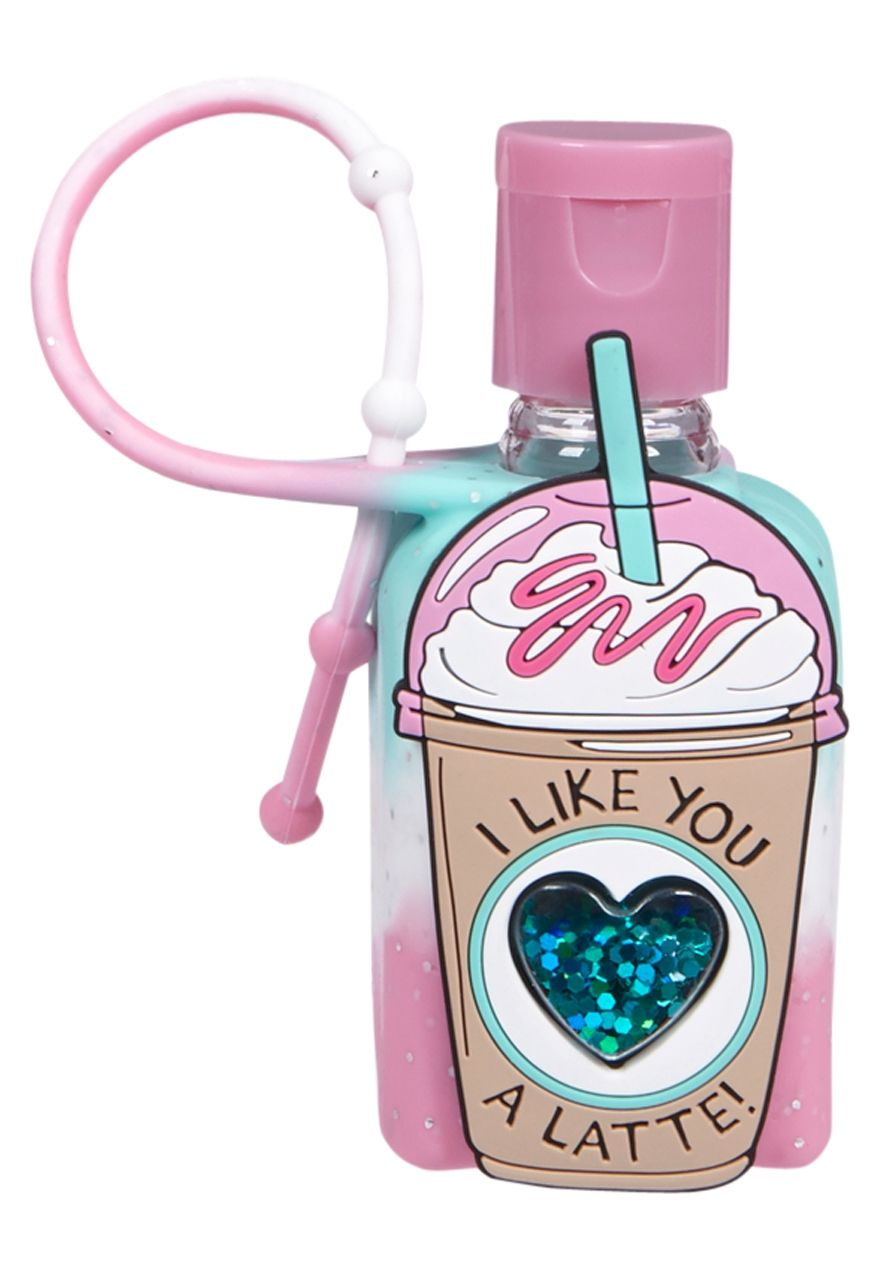 Like You A Latte Anti Bac Cotton Candy Scented Original Price 5 90 Available At Justice Hand Sanitizer Justice Accessories Unicorn Fashion