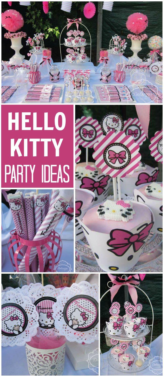 Hello Kitty Birthday Hello Kittya S Party Kitty Party Hello