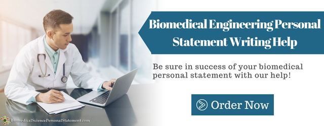 Biomedical Engineering Personal Statement Sample http://www ...