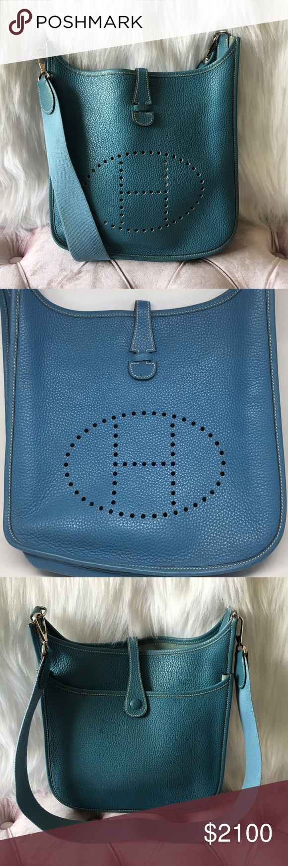Hermès Evelyne II Pm Togo Agate Cuivre Clemence Pre-owned Est Retail    3 0fa8267151ac4