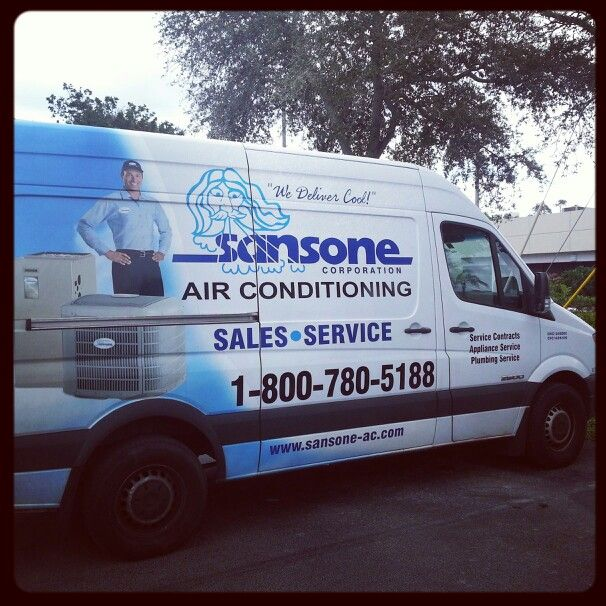 Sansone Air Conditioning Truck Coming To A South Florida Neighborhood Near You Soon