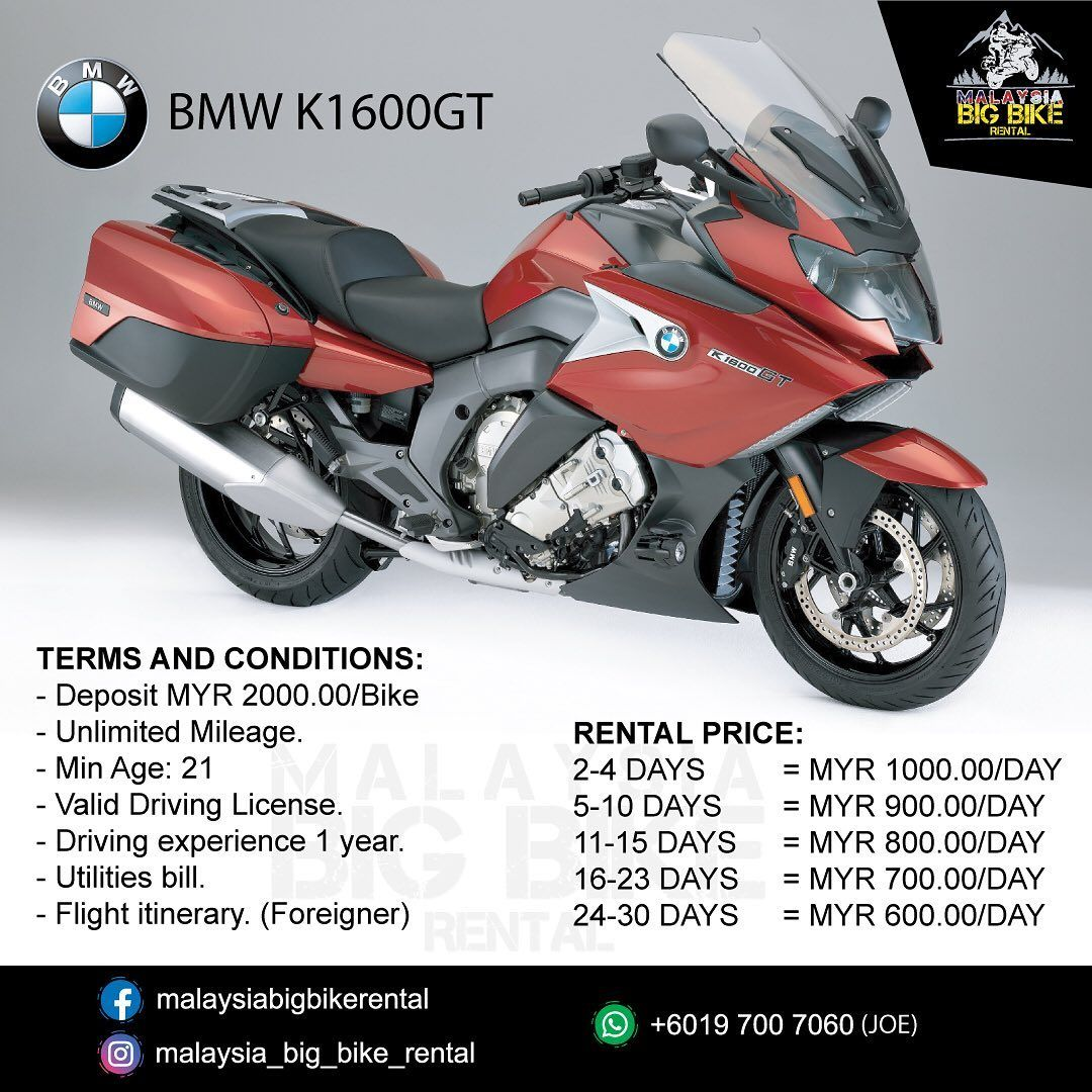Malaysia Big Bike Rental Offering Superbikes And Touring Bikes For