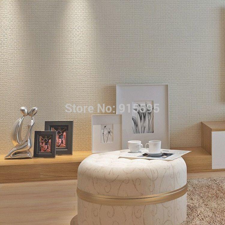 Gr tis frete palha liso moderno vinil emobssed wallpaper - Papel de pared moderno ...