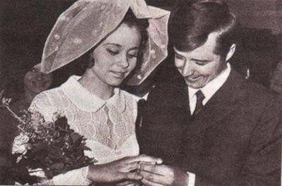 Любовь Полищук и Валерий Макаров.  1971