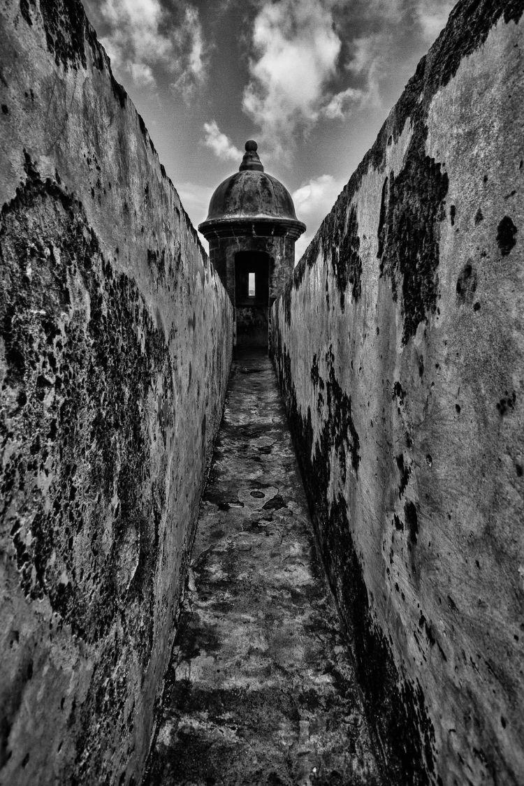A Long Walk - San Juan, Puerto Rico  If you like this photo please view and like it on the Studio414 contest. http://ning.it/NcUlOg