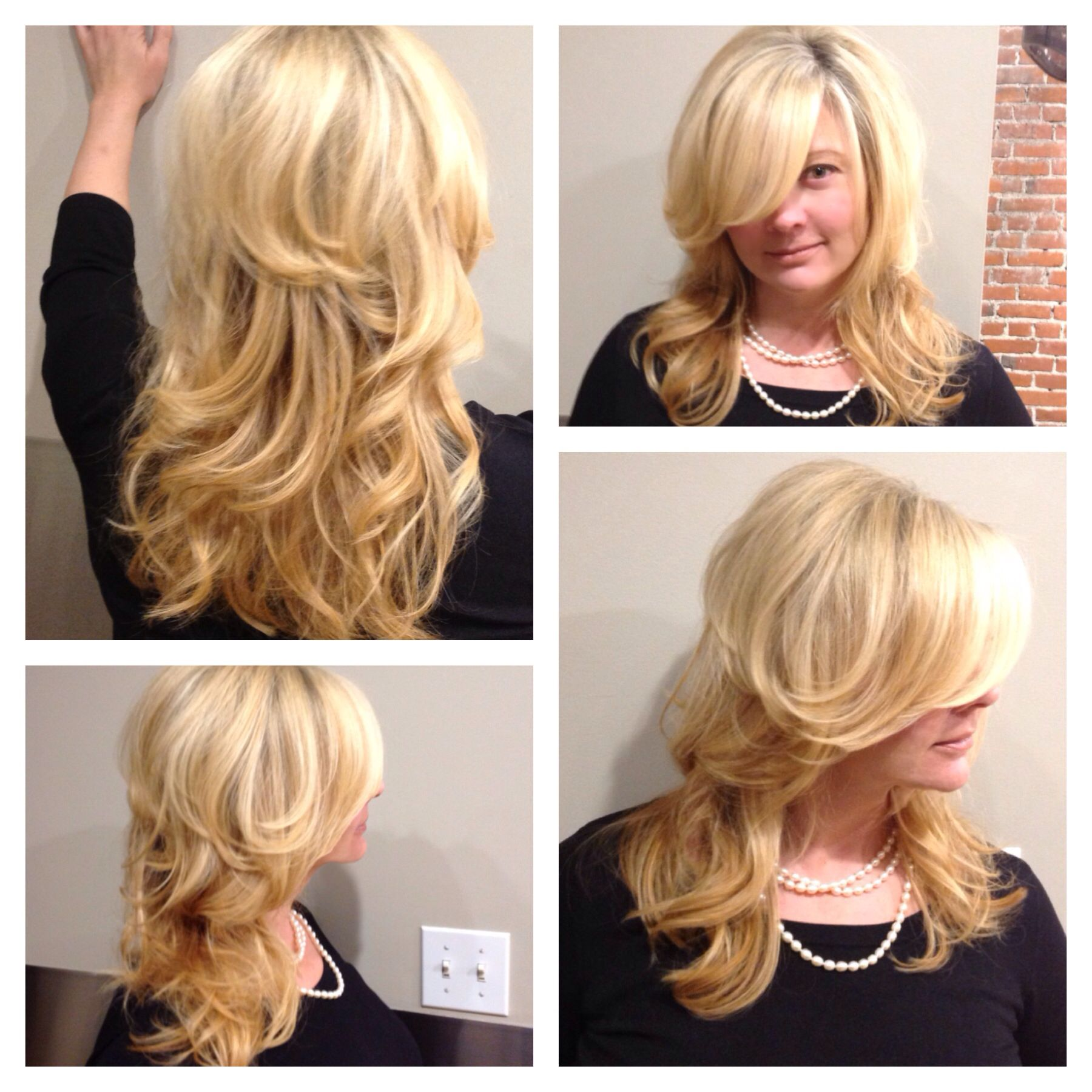 Bombshell blonde by Tatiana!