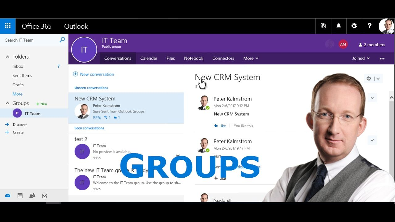 *Office 365 Groups Intro* With Office 365 Groups you can
