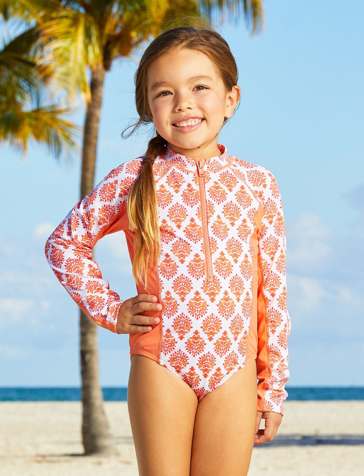 6e08f22aeb Big girls Nantucket sound uni-suit, Cabana Life, UV 50+ Sun Protection
