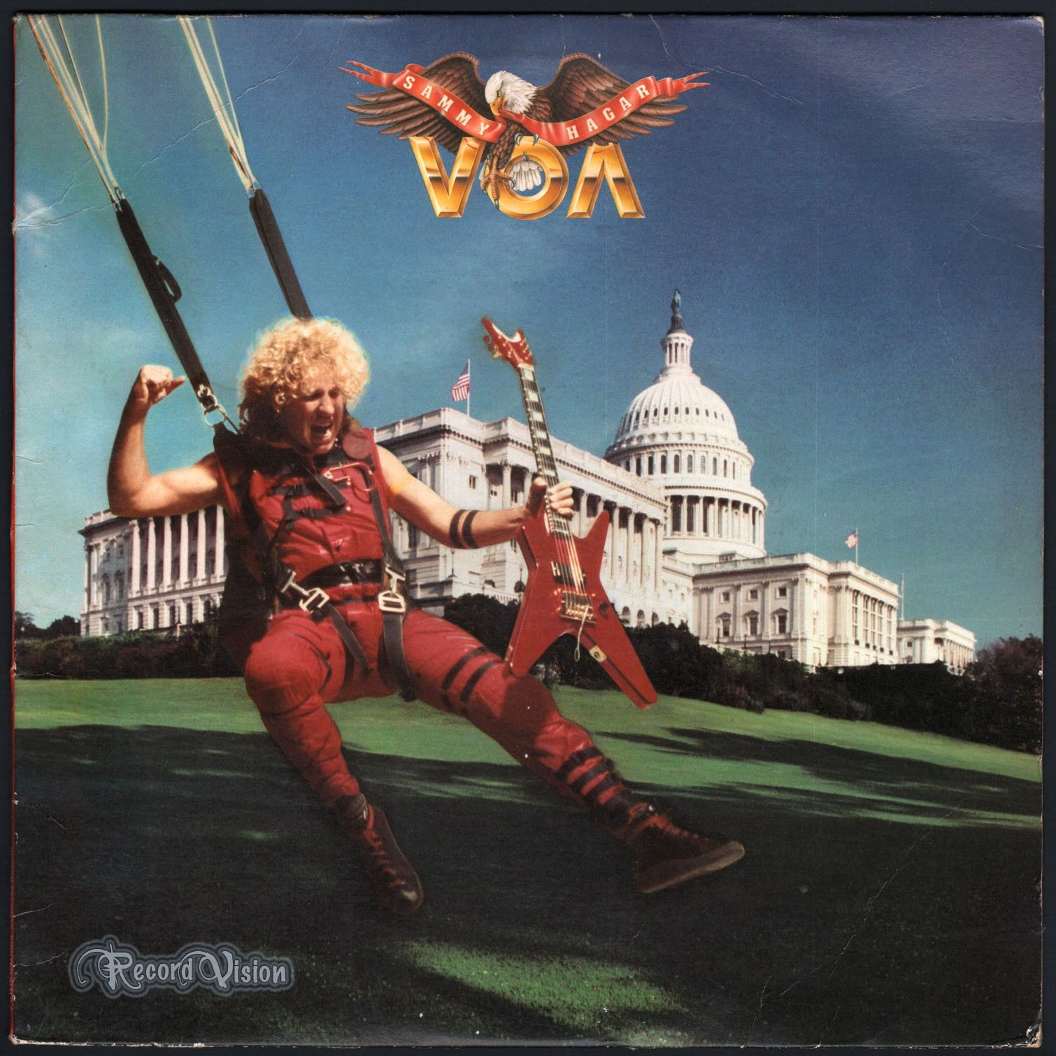 Sammy Hagar Voa 1984 Ex Ex Classic Rock Songs Sammy Hagar Rock Songs