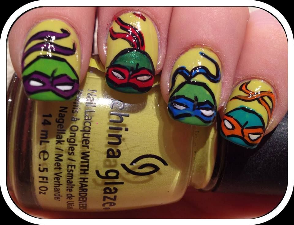 Sara.TMNT!!!!! | for other people | Pinterest | TMNT and Nail nail